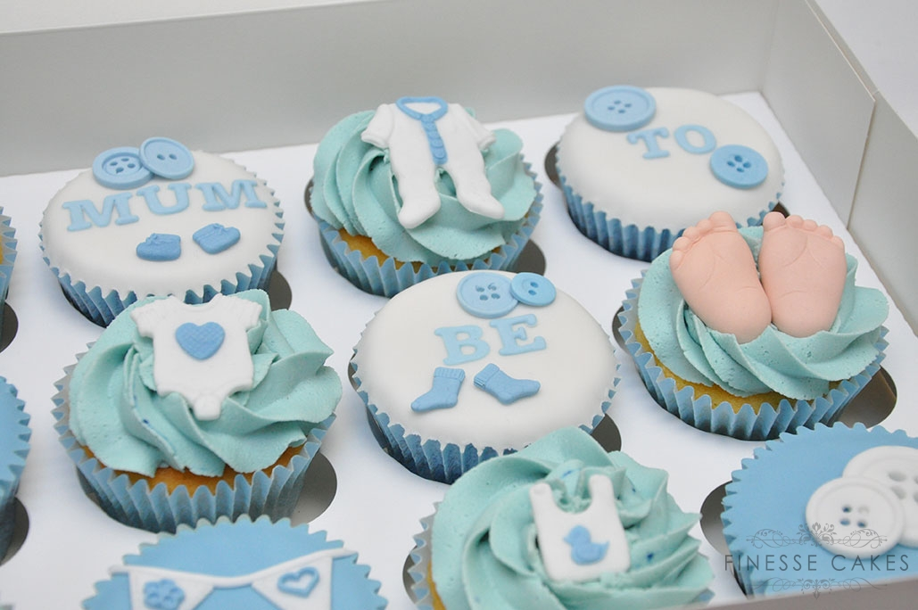 baby shower cupcakes for a boy essex hockley southend chelmsford